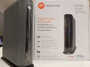 Cable modem plus router for Sale in Hillsboro, OR