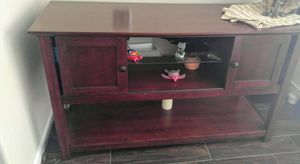 Great wood piece. Use anywhere. Plenty of storage for Sale in Artesia, CA