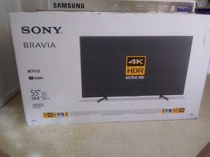 Brand new 55 inch Sony Bravia 4K Smart TV 2019 for Sale in China Grove, NC