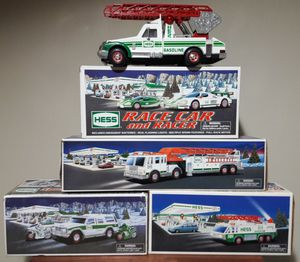 Hess Gas Toy Truck Lot gasoline oil station collection for Sale in Marietta, GA