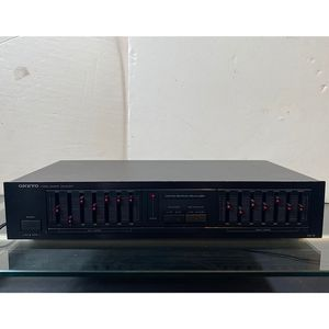 Vintage Onkyo Stereo Graphic Equalizer Model EQ-18 for Sale in Santa Ana, CA
