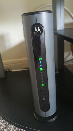 Motorola modem + Router for Sale in Orlando, FL