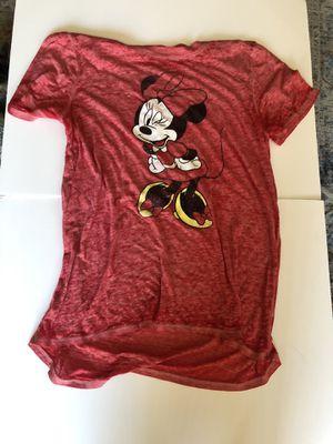 Set of Two Grey, Red Mickey & Minnie Disney Shirts for Sale in Sun City, AZ