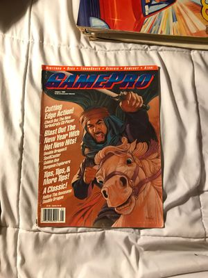 GamePro magazine January 1990 rare for Sale in Eau Claire, WI