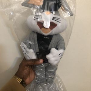 Kith x Looney Tunes Bugs Bunny Plush Limited Stuffed Animal *READY TO SHIP* for Sale in Somerville, MA