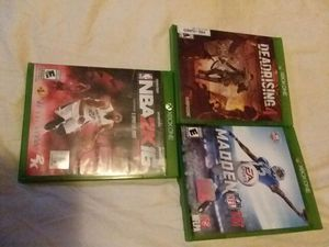 Xbox one games for Sale in Duarte, CA