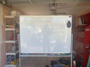 Double Sided White board w/ Markers and Eraser for Sale in Naples, FL