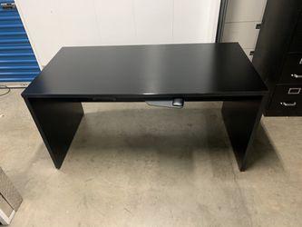 Wooden Black Desk for Sale in Downey,  CA