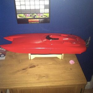 Black jack remote control boat for sale for Sale in Miami, FL