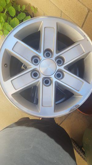 "GMC factory alloy 17"" wheels (4) for Sale in Huntington Beach, CA"