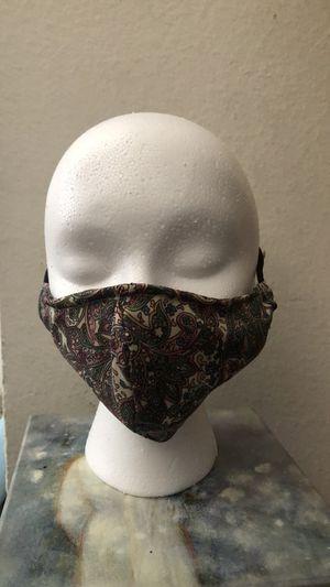 Cloth reusable face masks with pockef for filter for Sale in Rockville, MD