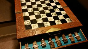 Antique chessboard for Sale in Crofton, MD