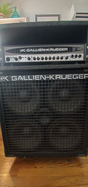 GK Bass amp and cabinet for Sale in Burbank, CA
