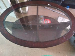 Nice Glass Top Coffee Table for Sale in Johnson City, TN