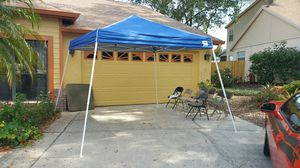 12 Ft EZ UP Blue Canopy Tent for Sale in Longwood, FL