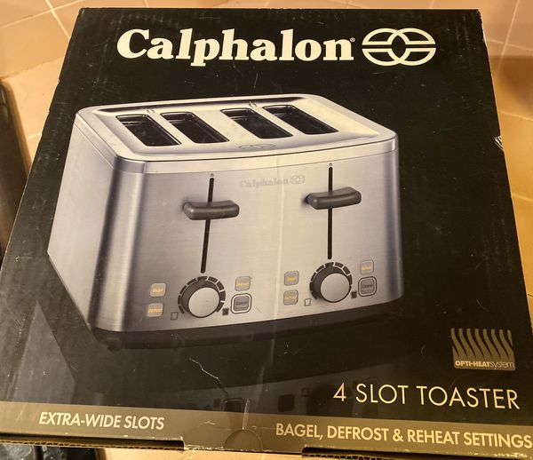 Brand new 4 slice bagel toaster with many settings & features