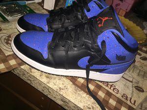 Retro 1 Jordan's Blue And Black for Sale in Manassas, VA