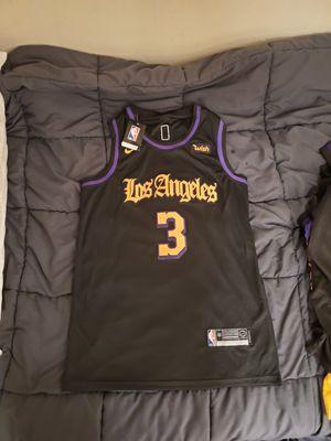 Lakers Davis jerseys $45 med xl 2x for Sale in Pomona, CA