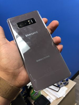 Samsung Galaxy note 8 factory unlocked for Sale in Dallas, TX