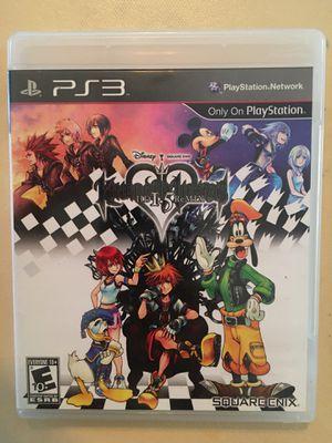 Sony PlayStation ps3 kingdom hearts l.5 for Sale in Visalia, CA