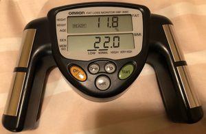 Omron fat loss monitor for Sale in Seattle, WA