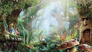 Alice in wonderland mushroom forest mural/ wall art for Sale in Hobe Sound, FL