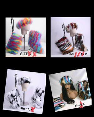 3 Pc Fur Boot Set for Sale in Jacksonville, FL