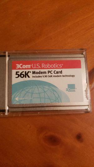 3Com 56k modem PC CARD for Sale in Davie, FL
