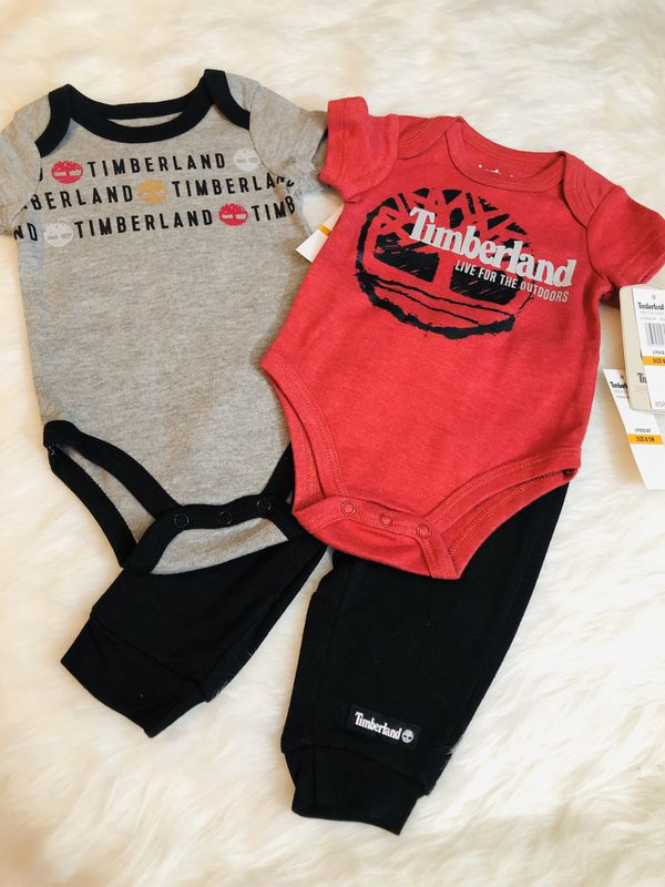 NWT Timberland 3PC *0/3 Months
