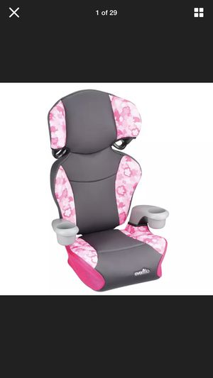 Evenflo sport high back car booster seat for children for Sale in Miami, FL