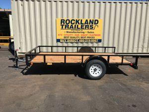 """77"""" x 12' single axle utility trailer for Sale in Scottsdale, AZ"""