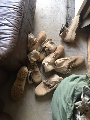 Military boots for Sale in Gahanna, OH