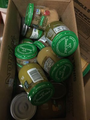 Box of baby food for Sale in Boston, MA