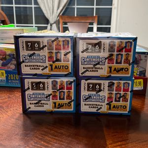 Contender basketball cards brand new sealed for Sale in Clackamas, OR