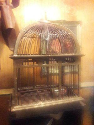 Vintage Decorative Bird Cage for Sale in Houston, TX
