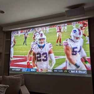 Complete Home Theater System With Projector Screen for Sale in Poway, CA