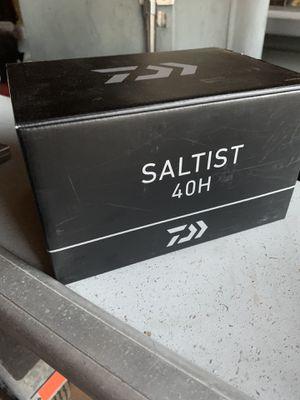 Daiwa Saltist 40h fishing reel for Sale in San Diego, CA