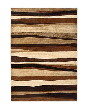 """Tribeca Heat Set Wave 5'2"""" x 7'2"""" Area Rug in Brown for Sale in Gainesville, FL"""