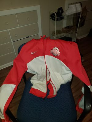 Ohio state white and red Nike elite hoody jacket for Sale in Columbus, OH