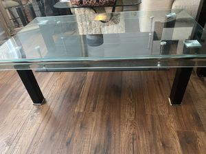 Glass coffee table for Sale in Everett, WA