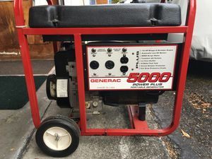 Generator Generac 5000 for Sale in Federal Way, WA