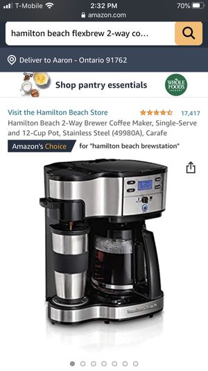 Coffee maker for Sale in Montclair, CA