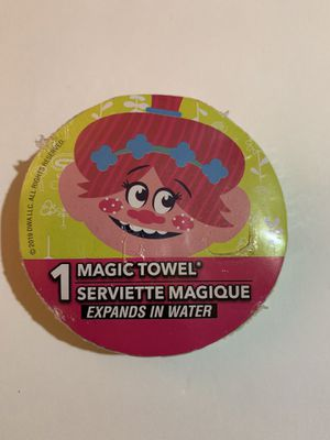 Trolls Magic Towel, New, 100% Cotton for Sale in Penndel, PA