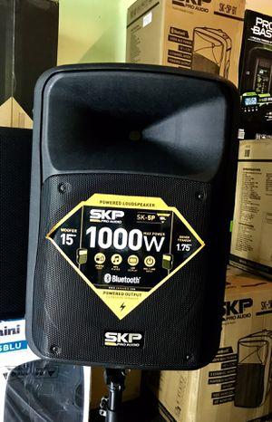 Speaker Bluetooth,radio,karaoke,USB,AUX,ecualizador,Perfecto para eventos y casas sonido súper fuerte for Sale in Hialeah, FL