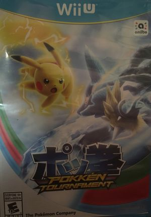 Pokken tournament for wii u not for nintendo switch or 3ds for Sale in Apache Junction, AZ