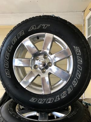 All terrain Tires with Wheels for Sale in Mansfield, TX