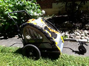 In Step Double Bike Trailer & Stroller for Sale in Newtown Square, PA