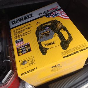 60 Volt Dewalt Compressor for Sale in Oroville, CA