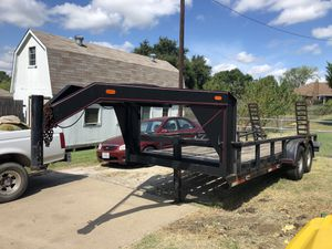 18 ft Gooseneck trailer for Sale in Forest Hill, TX
