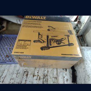 New Dewalt Table Saw Dwe7485 for Sale in Tacoma, WA